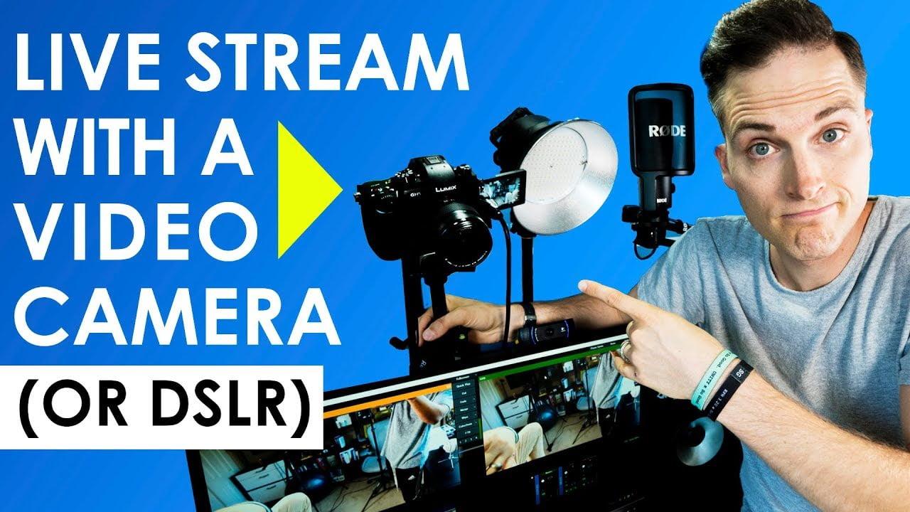 Stream og legg ut videoene dine på nett